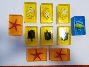 Natural Transparent Handmade Toy Soap pictures & photos