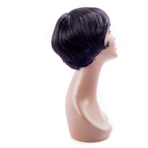Synthetic Wig Short Haircut Wig Short Wigs for Woman Full Lace Wig pictures & photos