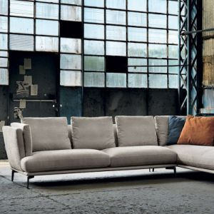 Modern New Style Living Room Fabric Sofa Set (F1112) pictures & photos