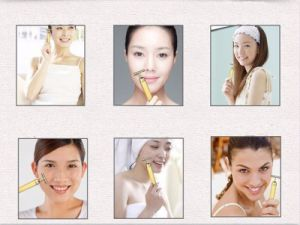 24k Golden Facial Massager Pulse for Skincare pictures & photos