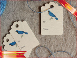 Paper Hang Tag Printed Price Tag Clothing Logo Tag pictures & photos