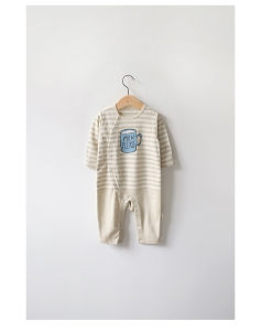 Eco-Friend Organic Cotton Romper for Newborn Baby pictures & photos