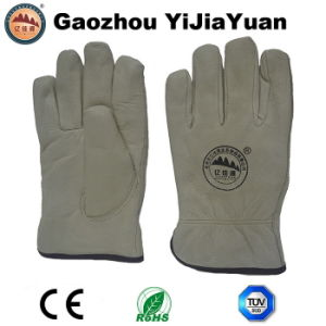 Pig Skin Safety Protective Hand Work Gloves with Competitive Price pictures & photos