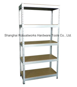 4 Tiers Metal Rack Storage Shelf (7537F-100) pictures & photos