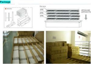 2017 TUV SAA Ce UL Approval Electronic Ballast Compatible SMD2835 Ultra Thin 0.6m1.2m 1.5m Al+PC 10W 18W 24W 1200mm T8 LED Tube Light pictures & photos