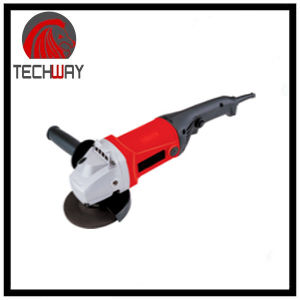 125mm/ 1150W/ 110/220V/ 50/60Hz /7500r/Min Adjustable Speed Electric Angle Grinder pictures & photos