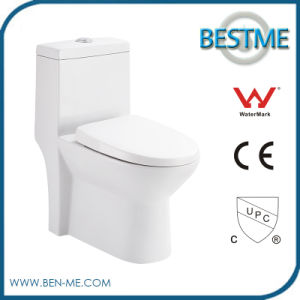 3/6L Water Saving Domestic China Design Ceramic One Piece Water Closet Wc pictures & photos