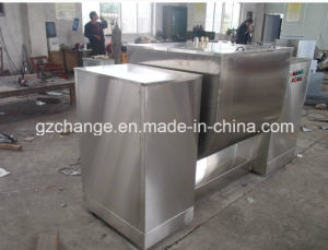 Stainless Steel GMP Horizontal Ribbon Blender for Various Powder pictures & photos