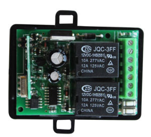 2channel Universal Receiver with Transmitter of 315 or 433MHz pictures & photos