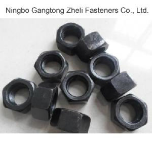 Black Finish 10 Hv Nuts for DIN6915 pictures & photos