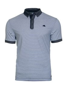 2017 New Design Customized Men Cotton Fashion Stripe Short Sleeve Polo Shirts T-Shirts Clothing (S8287) pictures & photos