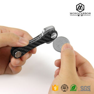 2017 Multi-Purpose Carbon Fiber Reasonable Pricing Smart Key Holder Compact Key Organizer pictures & photos