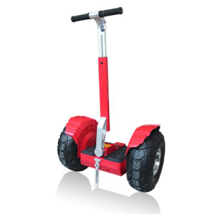 2 Wheel Fat Tire Standing Electric Kick Scooter pictures & photos