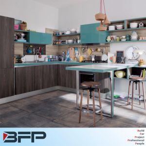 New Melamine Kitchen Cabinet Design pictures & photos