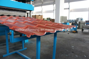 3D Steel Tile Roll Forming Machine pictures & photos