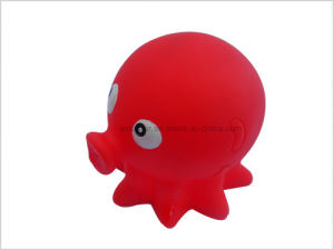 Red Vinyl Octopus Squirt Toy pictures & photos