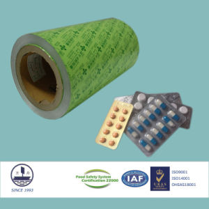 ISO Certified Pharmaceutical Ptp Aluminum Foil for Packaging Capsules 8011 H18 pictures & photos