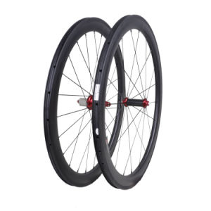 700c Carbon Wheels 50mm Tubeless Carbon Road Bicycle Wheels pictures & photos