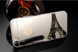 Metal Mirror Case for iPhone 6s/7puls Hard Phone Case Cell Phone Accessories pictures & photos