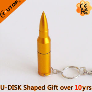 Bullet USB Flash Memory/USB Pendrive for Free Gifts (YT-1224) pictures & photos