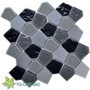 Good Price Glass Mosaic Tiles (TG-OWD-642) pictures & photos