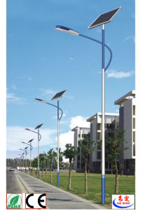 60W LED Street Light Price Ce CCC Certification Approved Aluminium Solar Power Street Light