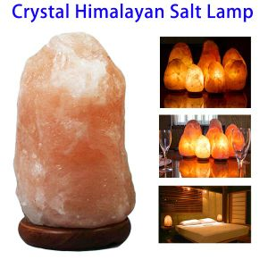 High Quality Hand Carved Natural Crystal Himalayan Rock Salt Lamp pictures & photos