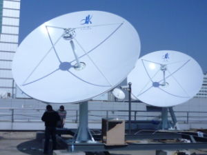 3.7m Fixed Satellite Earth Station Rxtx Antenna pictures & photos
