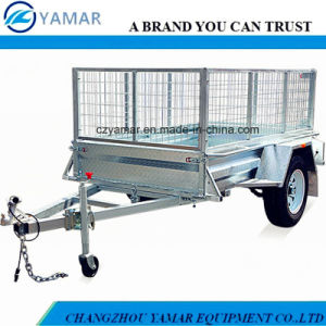 Single Axle Farm Trailer with Cage pictures & photos