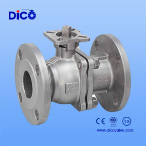 2PC High-Platform Floating Flange Ball Valve pictures & photos