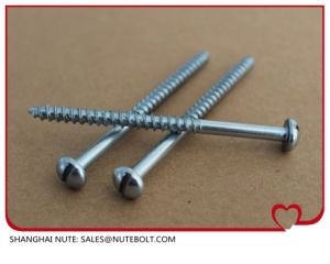 Pan Head Wood Screw pictures & photos