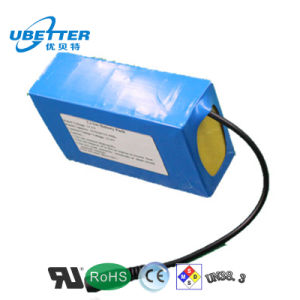 18650 Rechargeable 11.1V 2600mAh Lithium Battery for Portable LED Lighting pictures & photos