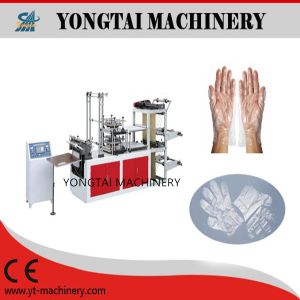 Food Service Clear Disposable HDPE Gloves Making Machinery pictures & photos