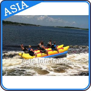 Inflatable Watercraft, Inflatable Banana Boat, Inflatable Floating Banana Boat for Water Game pictures & photos