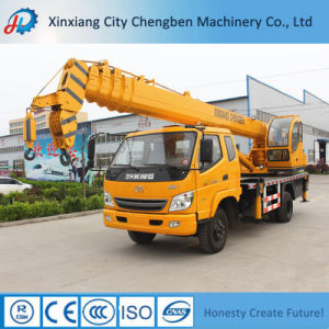 Consumption Hydraulic Truck Crane 6 Ton for Sale pictures & photos