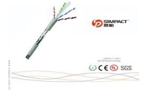 UL, CE, RoHS Apporved Self-Extinguishing FTP Cat5e Cable pictures & photos