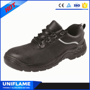 Leather Steel Toe Safety Shoes Ufa077 pictures & photos