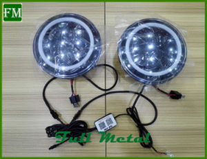 7′′ LED Headlight with RGB Angel Eye for Jeep Car pictures & photos
