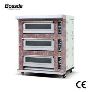 Hot Sale Food Equipment Gas Bread Pizza Deck Oven for Bakery with Ce pictures & photos