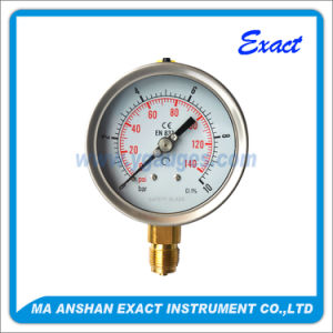 Vacuum Pressure Gauge-Oil Manometer-Stainless Steel Pressure Gauge pictures & photos
