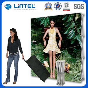 Floor Standing Straight Aluminum Pop up Display pictures & photos