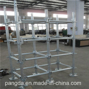 China SGS Heavy Duty Metal Cuplock Scaffoldign System pictures & photos