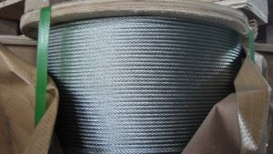 Galvanized Steel Wire Rope 6X7 for Hoisting pictures & photos