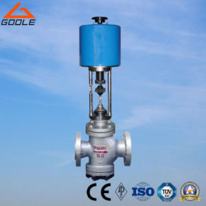 Electric Actuated Double Seat Control Valve (GZDLN) pictures & photos