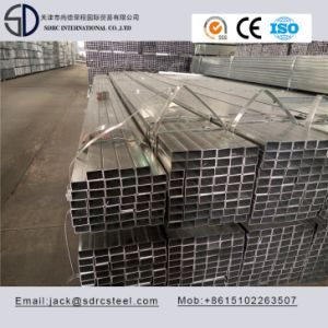 Hot Dipped Galvanized Carbon Square Structure Steel Pipe pictures & photos