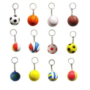 PU Keychain with Various Designs pictures & photos