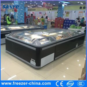 Aht Auto Defrost Commercial Deep Freezer for Ice Cream Seafood pictures & photos
