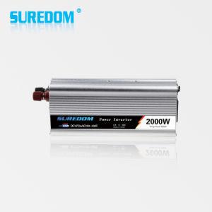 2000W Car Power Inverter DC/AC 12V 220V 50/60Hz Converter pictures & photos