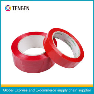 Red Color Adhesive Packing Tape pictures & photos