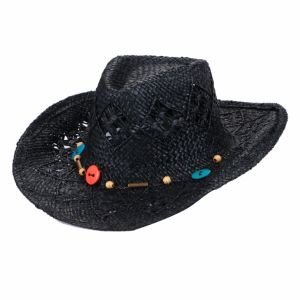 Men / Women′s Summer Classic Western Cowboy Straw Hat pictures & photos